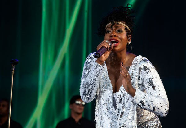 Fantasia at the Metrolina Expo for Funk Fest on Sept. 12.