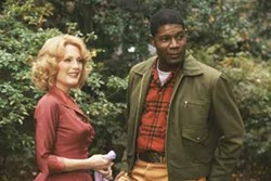 FAR FROM HEAVEN: Julianne Moore and Dennis Haysbert.