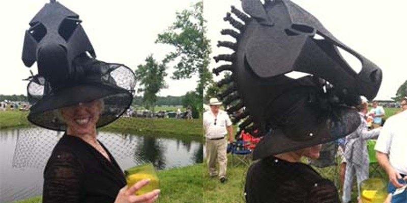 Fashion and horses: A day at The Queen's Cup Steeplechase