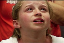 MAGNOLIA PICTURES - FATHER, FORGIVE THEM Tory is one of the mentally abused children seen in Jesus Camp