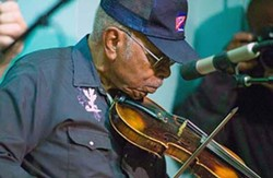 COURTESY CHARLOTTE FOLK SOCIETY - Fiddle master Joe Thompson.