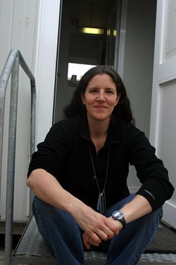 HEATHER BLOCK - Filmmaker Laura Poitras