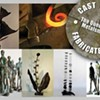 Final week for Green Rice Gallery's metal exhibition