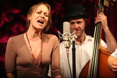 Fiona Apple sings with Nickel Creek. (Ovens Auditorium, Aug. 5)