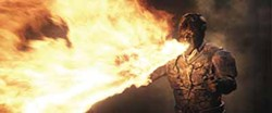 DIGITAL DOMAIN & UNIVERSAL STUDIOS - FIRESTARTER: Jet Li in The Mummy: Tomb of the Dragon Emperor, the worst film currently in theaters.