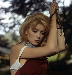 COURTESY OF THE CRITERION COLLECTION - FIT TO BE TIED: Catherine Deneuve in Belle de jour