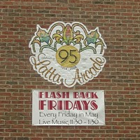 Flashback FriDAY party at Latta Arcade