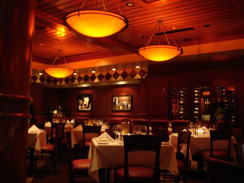 Fleming's main dining room.