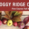 Upcoming Event: Foggy Ridge Cider Dinner