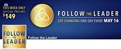 AMY DAWIDOWICZ AND DAVID TEMPLE - Follow The Leader. Share Your Story