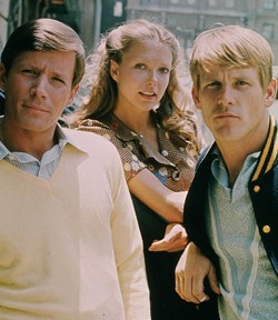 A&E HOME VIDEO - FOR RICHER OR POORER: Peter Strauss, Susan Blakely and Nick Nolte in Rich Man, Poor Man