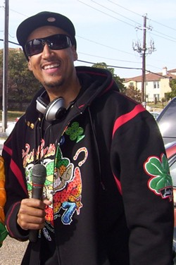 Former Power 98 radio personality, Nate Quick, pictured here in 2008