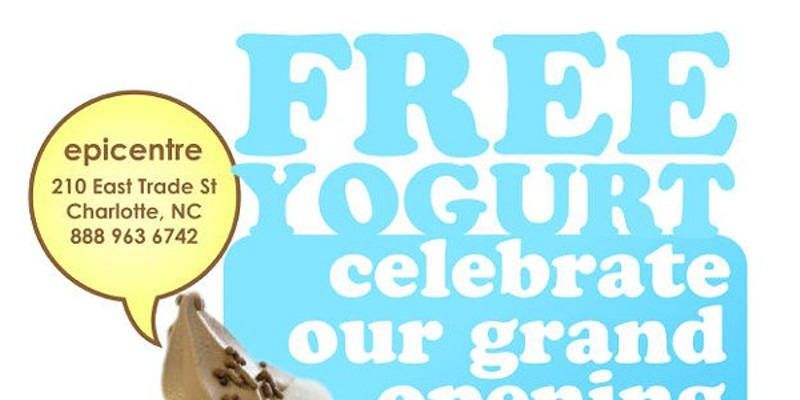 Free frozen yogurt today