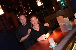 CATALINA KULCZAR - FRENCHLY SERVED: Bernard and Shannon Brunet, owners of Global Restaurant