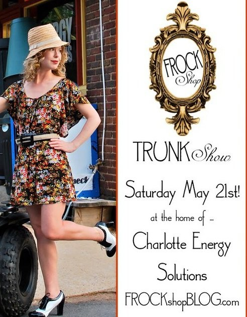 FROCK shop TRUNK show