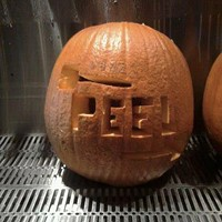 From Pizza Peel's staff pumpkin carving contest