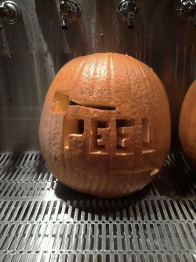 From Pizza Peels staff pumpkin carving contest