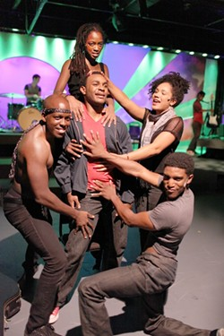 COURTESY OF GEORGE HENDRICKS PHOTOGRAPHY - From the top: Renee Welsh-Noel, Mekhai Lee, Kayla Carter, John Watson, Gerard Hazelton