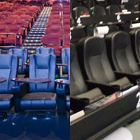 Full-course film theaters a feast for the senses
