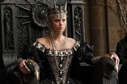 UNIVERSAL - GAME OF THRONES: It's a crowning moment for The Queen (Charlize Theron) in Snow White and the Huntsman.
