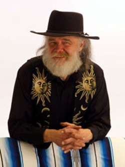 Garth Hudson, of The Band, adds his considerable - talent and presence to the Burritos