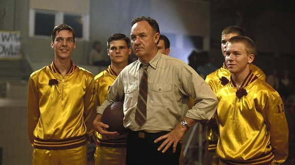 Gene Hackman (center) in Hoosiers (Photo: Fox/MGM)