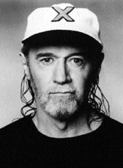 GEORGE CARLIN is back in the Queen City on - Thursday at the Performing Arts Center