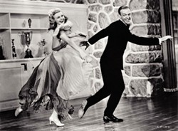 WARNER BROS. - Ginger Rogers and Fred Astaire in Carefree