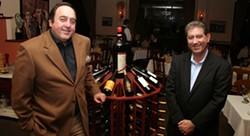 CATALINA KULCZAR - Giovanni Lorenzi (left) and Jimmy Hermann at Firenze