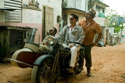 FILMDISTRICT - Giovanni Ribisi, Johnny Depp and Michael Rispoli in The Rum Diary