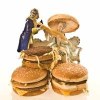 GLORIFIED GRUB: 'Fancy Feast' from the exhibit Fried