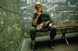 COURTESY OF THE CRITERION COLLECTION - GO GREEN: David Bowie in Merry Christmas Mr. Lawrence