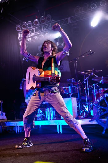 Gogol Bordello brought its energetic gypsy folk-rock to the Fillmore on May 21, 2012.