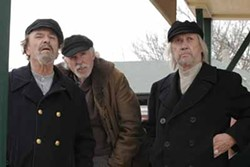 ROADSIDE ATTRACTIONS - GOLDEN BOYS WILL BE GOLDEN BOYS: Rip Torn, Bruce Dern and David Carradine play varying degrees of grumpy old men in The Golden Boys.