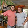 K.C. Terry, co-owner of Krazy Fish, spills his guts