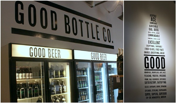 Good Bottle sells good beer.  Its as simple as that.