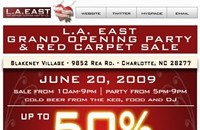Grand opening: L.A. East (Blakeney)