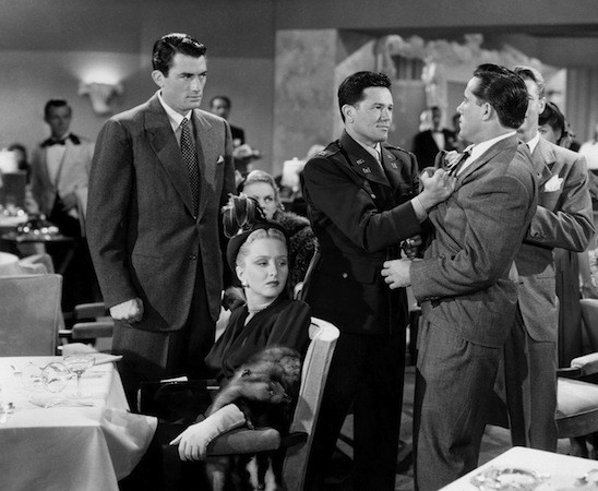 Gregory Peck, Celeste Holm and John Garfield in Gentleman's Agreement (Photo: Fox)