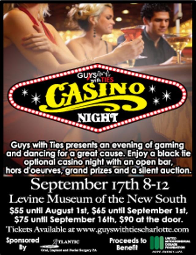 Casino ties new years eve party monte casino