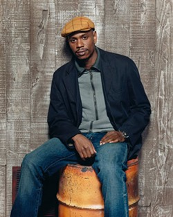 """Hail the conquering hero"": Dave Chappelle makes a triumphant return to Charlotte, Sunday, Feb. 26, 7pm at Ovens Auditorium. - JEFF CRAVOTTA"