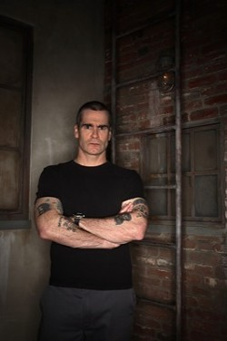 HANK OF ALL TRADES: Henry Rollins.