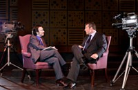 Frost/West talks up <i>Frost/Nixon</i>