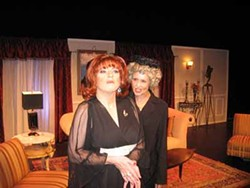 KRISTIAN WEDOLOWSKI - Hank West (left) as Angela Arden and Jorja Ursin as Bootsie