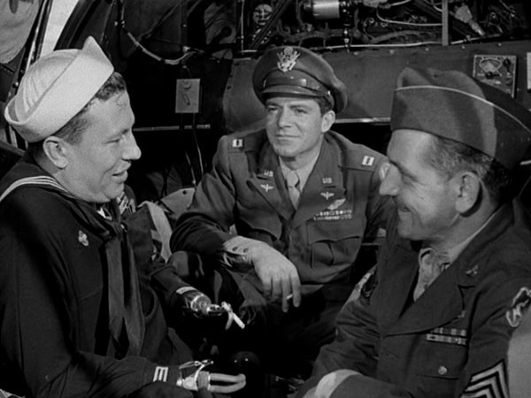 Harold Russell, Dana Andrews and Fredric March in The Best Years of Our Lives (Photo: Warner Bros.)