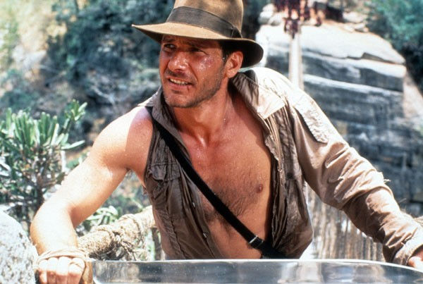 Harrison Ford in Indiana Jones and the Temple of Doom - PARAMOUNT