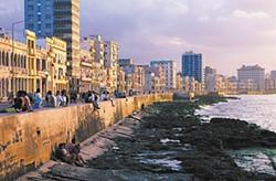 Havana's Malecón promenade.
