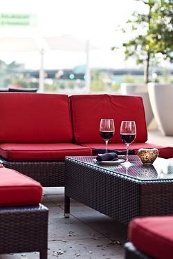 ASHLEY GOODWIN - HAVE A SEAT: Dressler's patio
