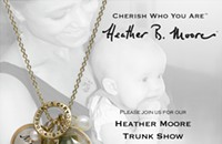 Heather B. Moore jewelry trunk show at Cottage Chic
