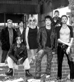 HAPPY CARTER - Hedwig and the Angry Inch cast members (L-R): Craig - Spradley, B. Pierce, Jeff Lynds, Billy Ensley, Ben - Jackson, Chip Decker, Matt Olin