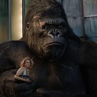 HELPING HAND: Ann Darrow (Naomi Watts) finds a protector in King Kong (Photo: Weta Digital / Universal)